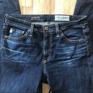 Ag Adriano Goldschmied Jeans - AG Adriano Goldschmied Jodi Crop High Rise Jeans